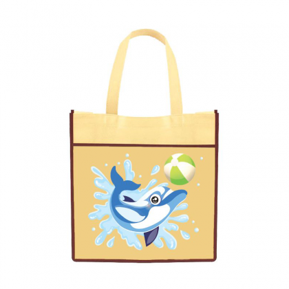 Tote Bag Painting - Dolphin