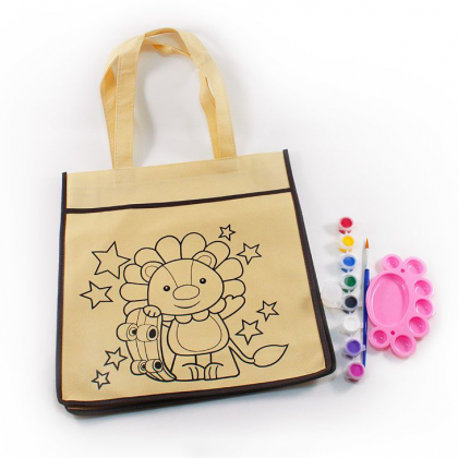 Tote Bag Painting - Lion