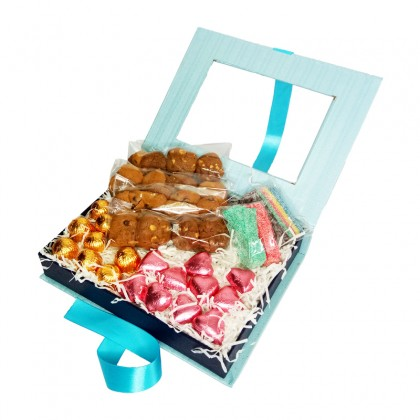 Cookie & Sweet Tooth Box : Cookies, Double Chocolates and Sweet & Sour Ribbons