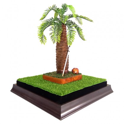 Replica of Palm Tree in Acrylic Display Casing